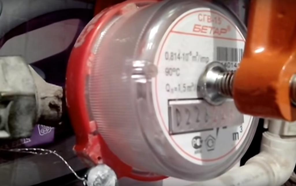 Как остановить водосчетчик без магнита в домашних условиях 637