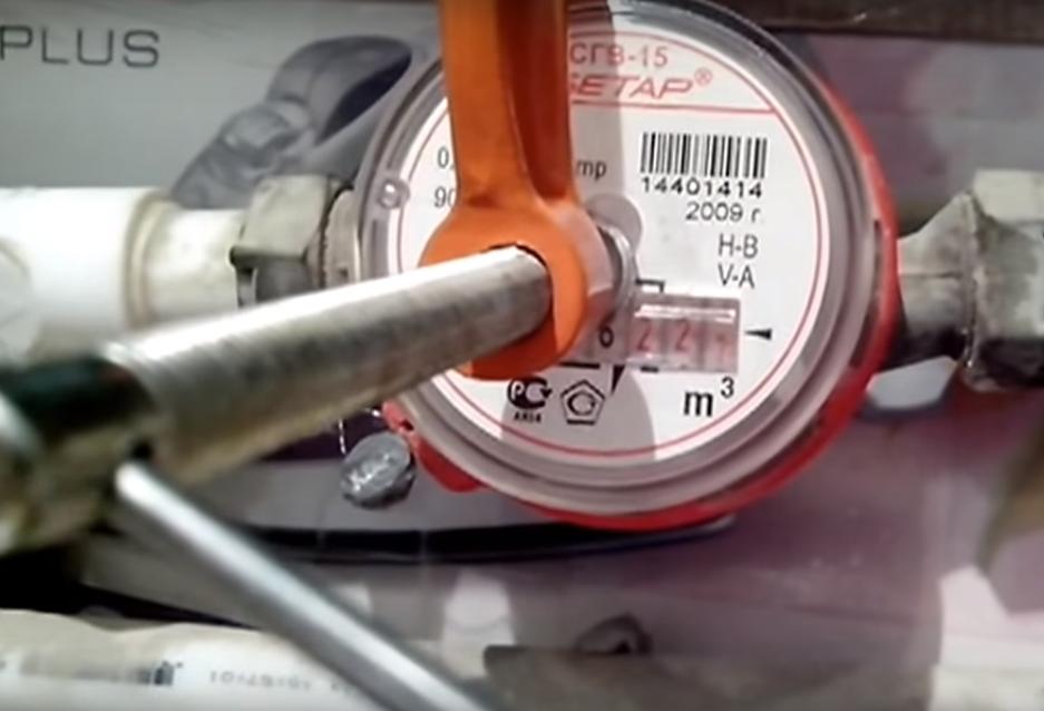 Счетчики воды как остановить без магнита в домашних условиях