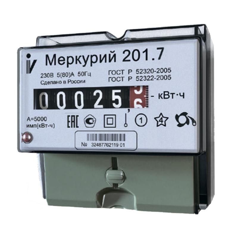 Счетчик меркурий 201