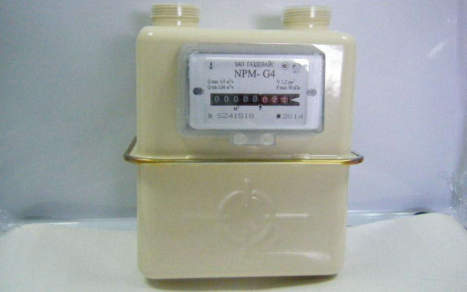 Счетчик газа NPM G4