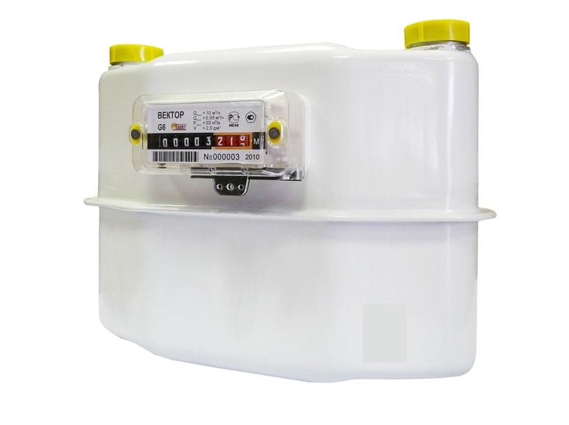 Газовый счетчик Вектор G6