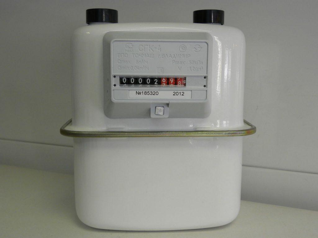 Газовый счетчик СГК 4 производится компанией Точмаш